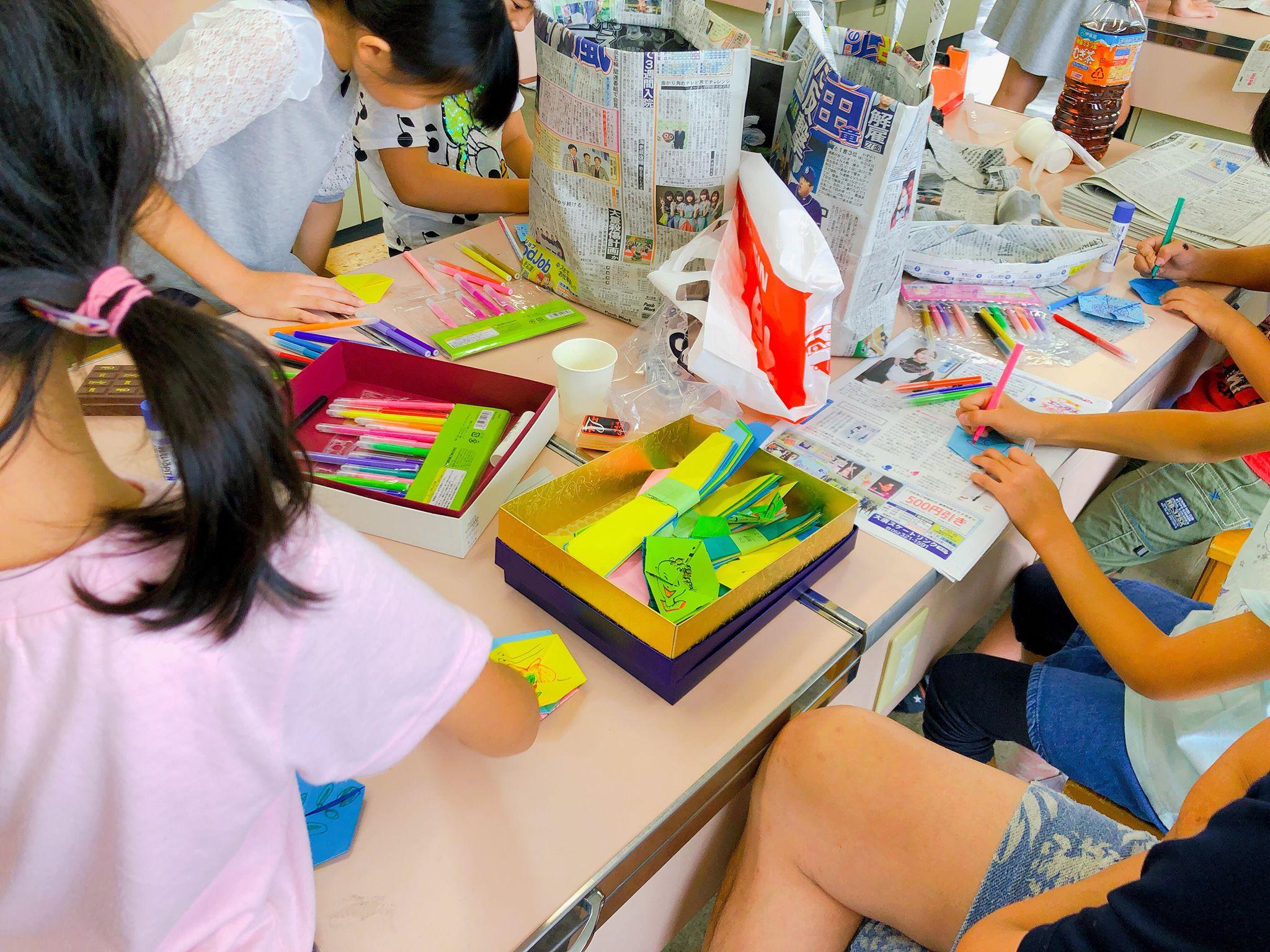 長久手北小学校の夏休み宿題イベント